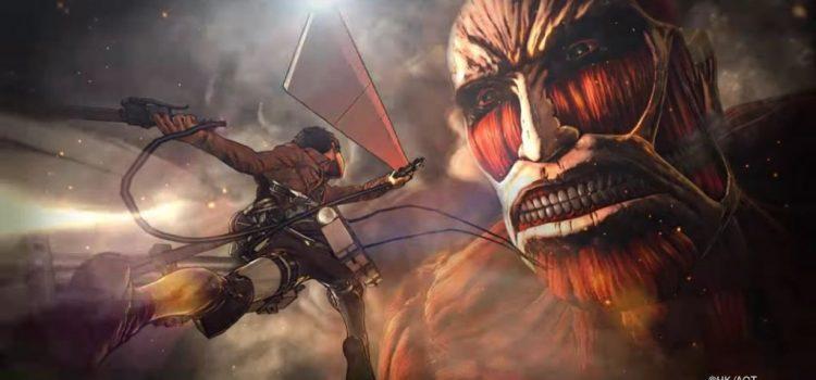 [Pré-co] L' Attaque Des Titans : Wings Of Freedom sur PS4