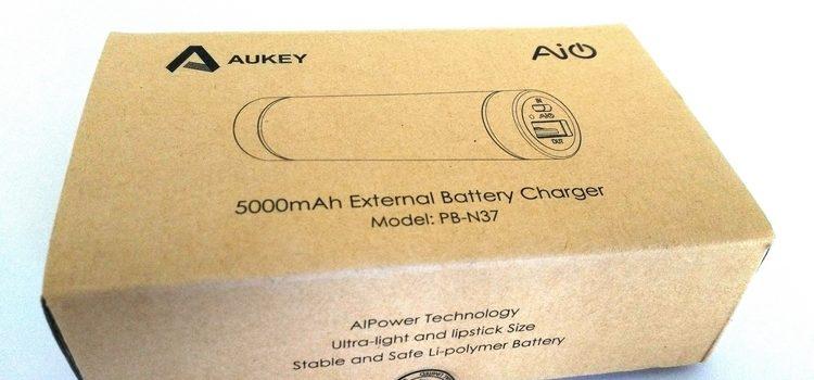 [Test] Aukey : Batterie Externe 5000mAh