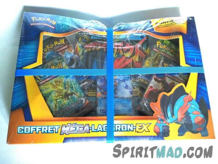 Achat 2 coffrets pok mon m ga laggron ex spiritmad - Coffret coloriage cars leclerc ...