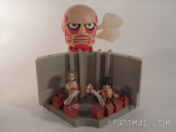 Nendoroid with smoke and playset