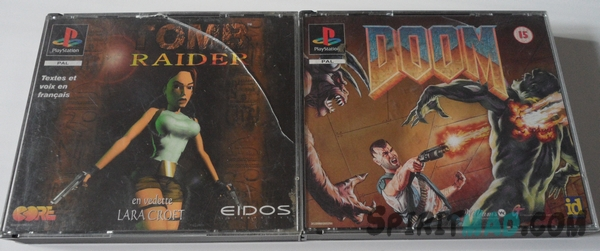 Tomb Raider & DOOM PS1