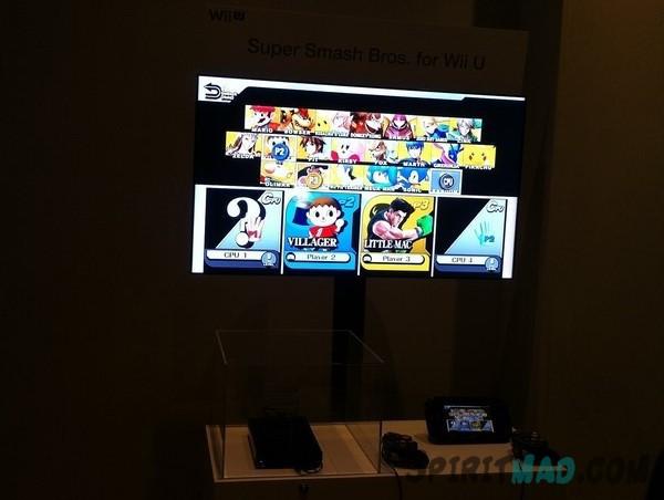 Cast Super Smash Bros Wii U