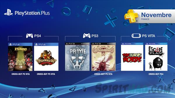PS Plus Novembre 2014