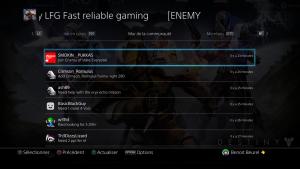 Communautés PS4