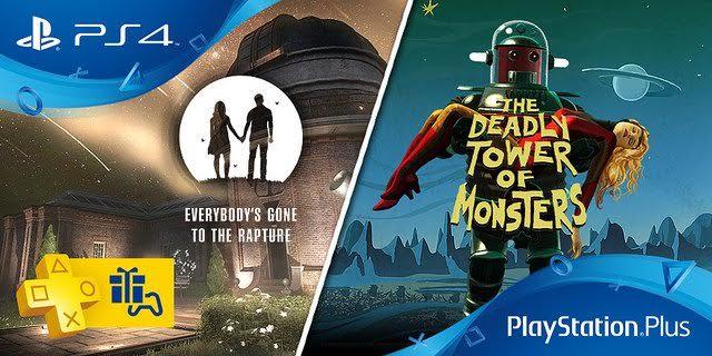 Jeux PS Plus Novembre 2016